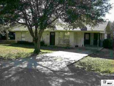 West Monroe Single Family Home New Listing: 100 Hillside Circle