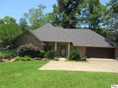 West Monroe Single Family Home New Listing: 126 Fox Run Street