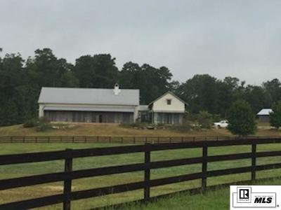 West Monroe Single Family Home New Listing: 510 Carey Nelson Road