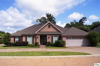 West Monroe Single Family Home Active-Price Change: 109 Kate Circle