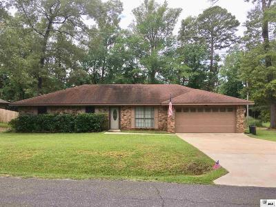 West Monroe Single Family Home Active-Pending: 121 Kenny Lane