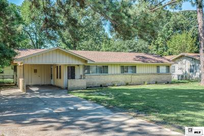 West Monroe Single Family Home For Sale: 205 Louisiana Avenue
