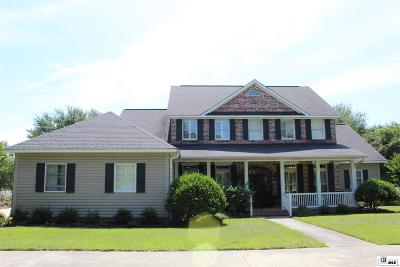 Monroe Single Family Home For Sale: 1462 Frenchmans Bend Road