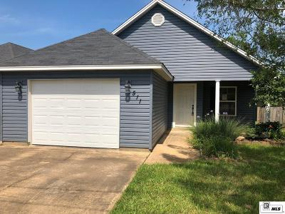 West Monroe Single Family Home Active-Price Change: 511 West Heights Drive