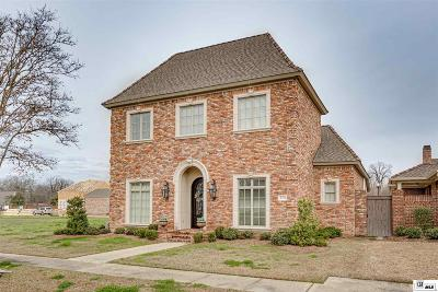 Monroe Single Family Home For Sale: 2311 Maison Orleans Boulevard