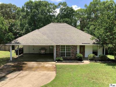 West Monroe Single Family Home For Sale: 109-A Canyon Road