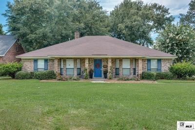Monroe Single Family Home For Sale: 2311 Valencia Boulevard