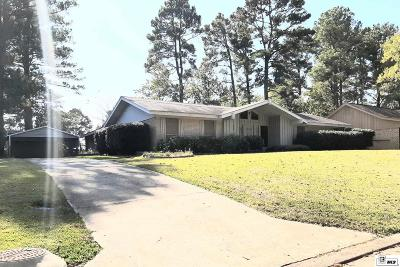 West Monroe Single Family Home For Sale: 307 Lakeland Drive
