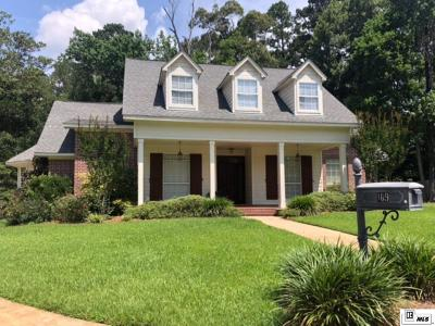 West Monroe Single Family Home For Sale: 109 Creek Side Drive