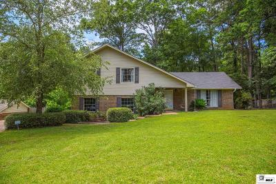 West Monroe Single Family Home Active-Price Change: 114 Honeysuckle Drive