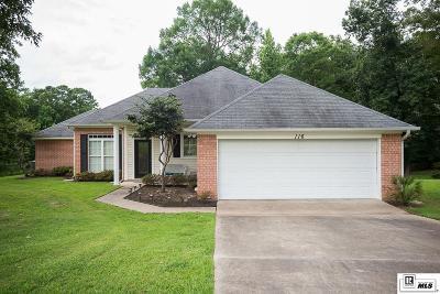 West Monroe Single Family Home For Sale: 116 Tamarack Circle