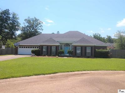 West Monroe Single Family Home For Sale: 115 Cerdan Circle