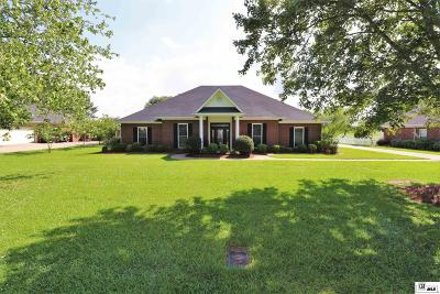 Monroe Single Family Home For Sale: 1518 Frenchmans Bend Road