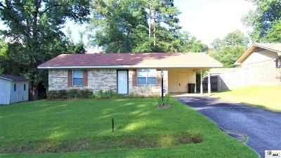 West Monroe Single Family Home For Sale: 210 Hardwood Drive