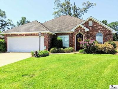 West Monroe Single Family Home For Sale: 116 Watson Circle