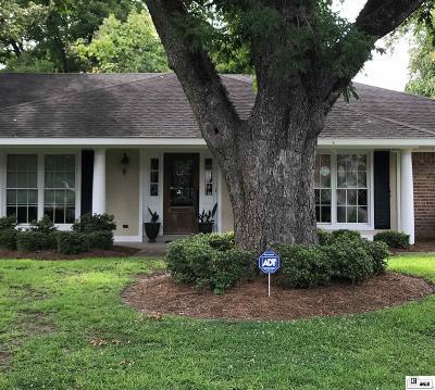 Monroe Single Family Home For Sale: 3201 Lake Desiard Drive