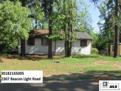 Single Family Home For Sale: 2307 Beacon Light Road