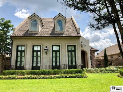 Monroe Single Family Home For Sale: 1800 Toulouse Drive