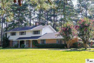 Ruston Single Family Home For Sale: 1201 Darbonne Drive