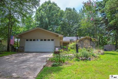 West Monroe Single Family Home Active-Pending: 143 Oleander Drive