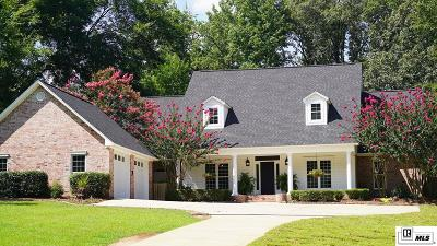Ruston Single Family Home For Sale: 124 Red Oak Drive