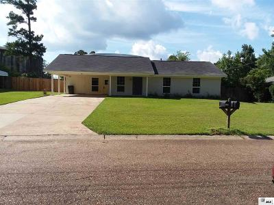 West Monroe Single Family Home New Listing: 104 Pine Circle