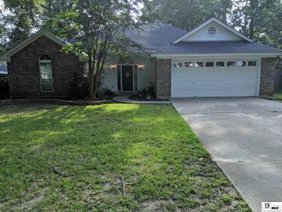 West Monroe Single Family Home Active-Pending: 112 Sylvan Lake Drive