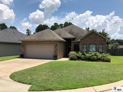 West Monroe Single Family Home New Listing: 111 Carriage Way