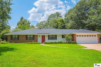 West Monroe Single Family Home New Listing: 129 Sunset Drive