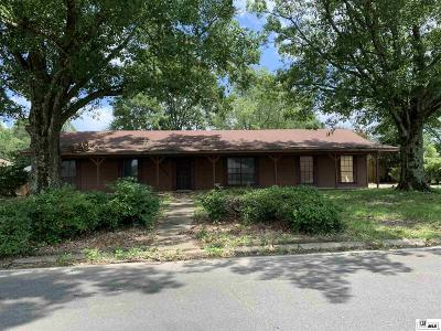 Monroe Single Family Home For Sale: 6508 Mosswood Drive
