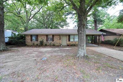 West Monroe Single Family Home New Listing: 110 Hillside Circle