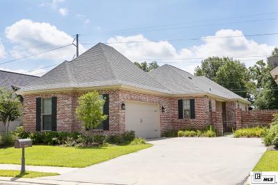 Monroe Single Family Home For Sale: 2814 Carondelet Lane