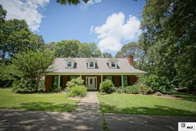 West Monroe Single Family Home New Listing: 192 Sandy Hill Circle