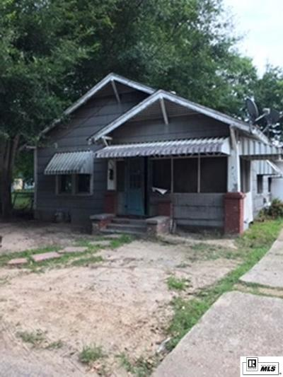 Monroe Single Family Home New Listing: 2104 Flynn Street