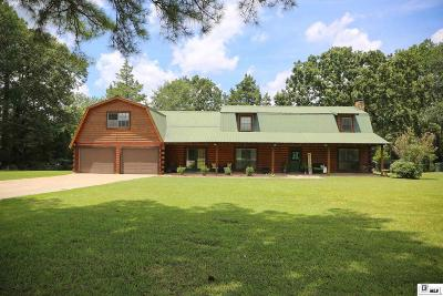 Choudrant Single Family Home New Listing: 4926 Highway 145