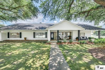 Monroe Single Family Home For Sale: 2503 Indian Mound Boulevard