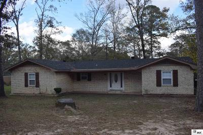 West Monroe Single Family Home New Listing: 1661 Highway 557