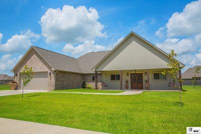 Monroe Single Family Home For Sale: 504 E Frenchmans Bend Road