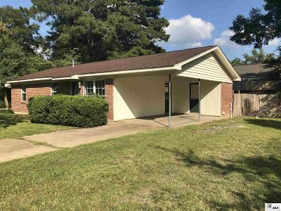 Monroe Single Family Home For Sale: 212 Curve Drive