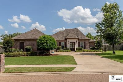 Monroe Single Family Home For Sale: 443 E Frenchmans Bend Road