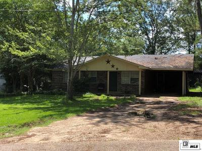 Jackson Parish Single Family Home For Sale: 419 Hickory Road