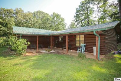 Dubach Single Family Home For Sale: 231 Pea Ridge Arena Road