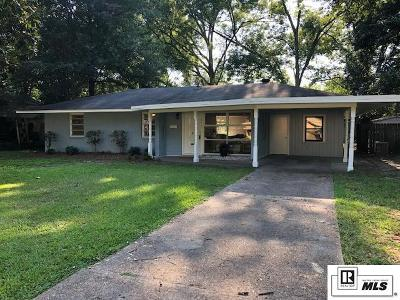 Monroe Single Family Home For Sale: 1805 Milton Street