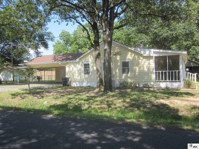 West Monroe Single Family Home For Sale: 512 Splane Drive