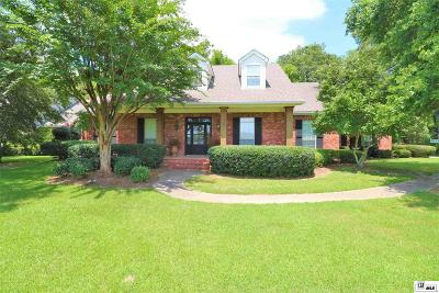 Monroe Single Family Home For Sale: 1493 Frenchmans Bend Road