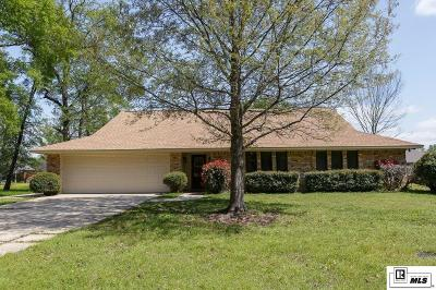 Monroe Single Family Home For Sale: 4006 Chauvin Lane