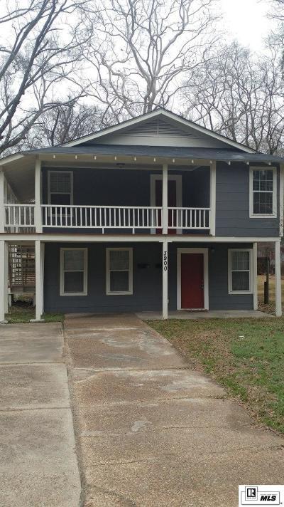 Monroe Multi Family Home For Sale: 3900 Harrison Street #1