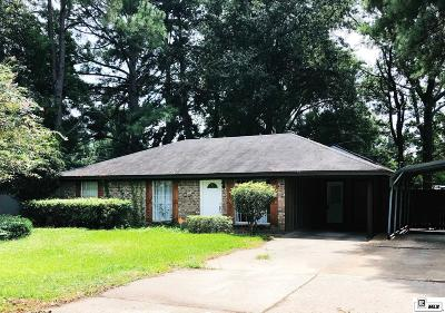 Monroe Single Family Home For Sale: 206 Sterlington Drive