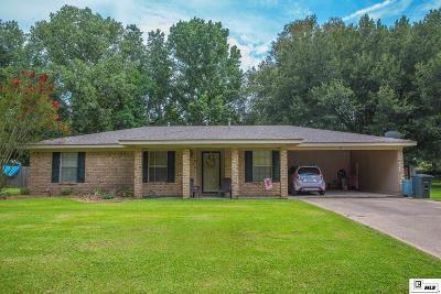 Monroe Single Family Home For Sale: 118 Ashlawn Lane