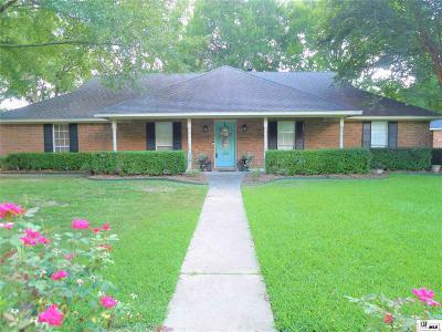 Monroe Single Family Home For Sale: 3505 Tilford Circle